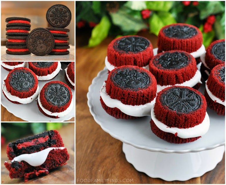 OREO Stuffed Cupcakes Tutorial OREO Stuffed Red Velvet Cupcakes That Taste Divine!