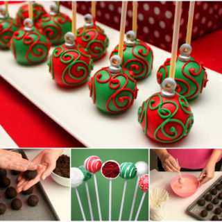 Wonderful DIY Christmas Ornament Cake Pops