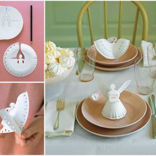 Wonderful DIY Cute Paper Plate Angel