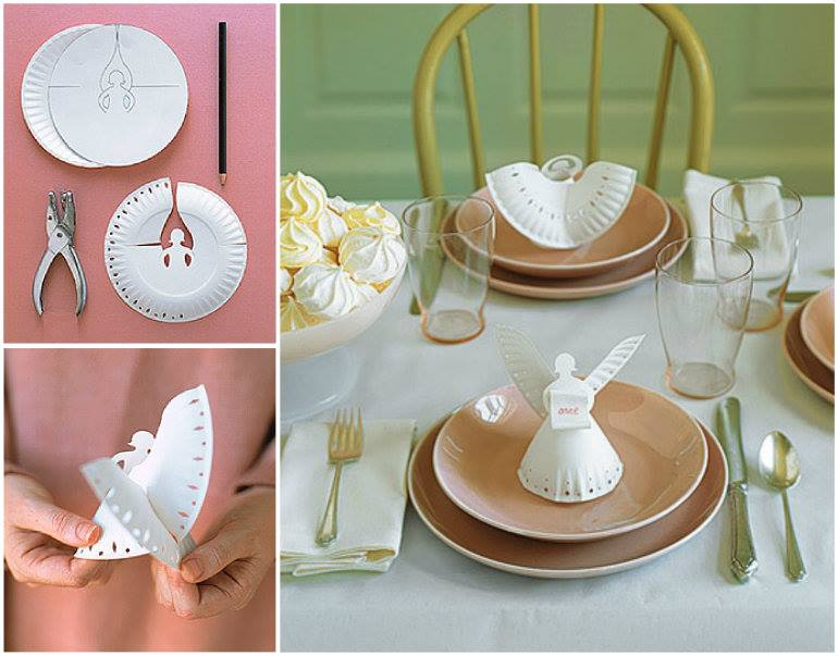 & Wonderful DIY Cute Paper Plate Angel