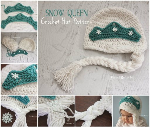 Snow-Queen-Crochet-Hat-Pattern