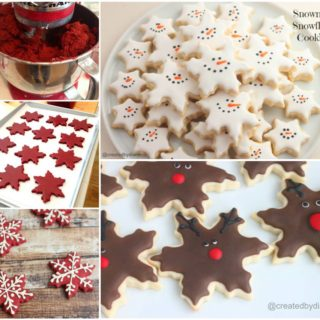 Wonderful DIY Christmas Snowflake Cookies