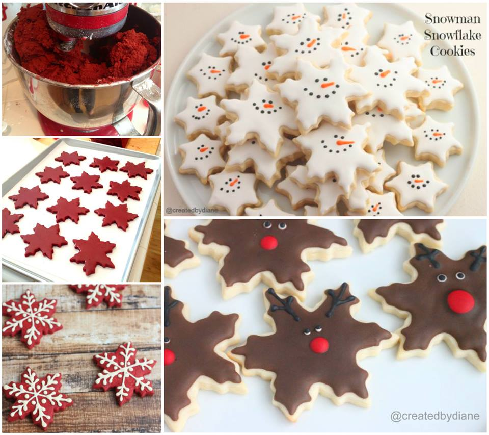 Snowflake Cookies Wonderful DIY Christmas Snowflake Cookies