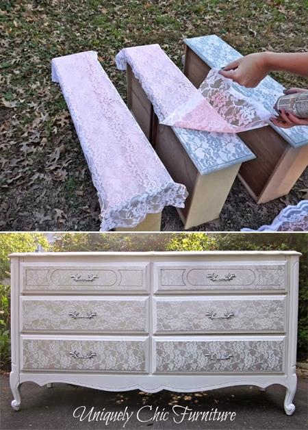 Transform-old-furniture-with-lace-and-spray-paint (1)