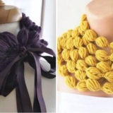 Wonderful DIY Crochet Puff Ball Scarf