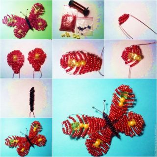 Wonderful DIY Pretty Beads Butterfly