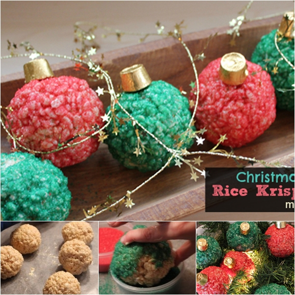 christmas rice krispies treats F Wonderful DIY Christmas Rice Krispies Treats