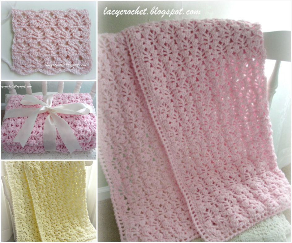 crochet Vintage Baby Blanket Free Pattern Super Snuggly Crochet Baby Blanket   Free Pattern and Tutorial