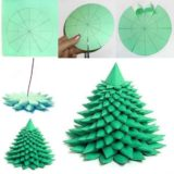 Wonderful DIY Unique Paper Christmas tree