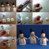 Wonderful DIY Cute Little Snowman