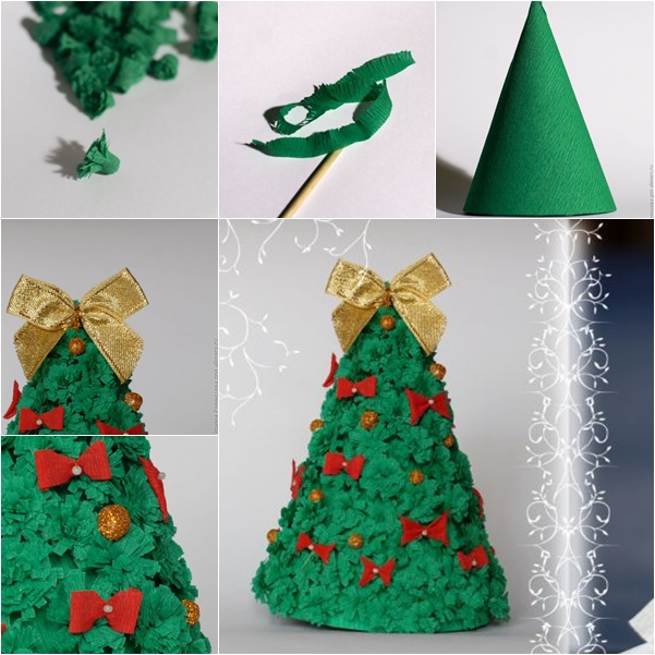 Simple Christmas Decorations Using Paper