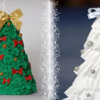 Wonderful diy mini folded paper christmas tree diy crafts wonderful diy super easy paper christmas tree solutioingenieria Image collections