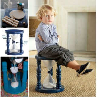Wonderful DIY Sand- Filled Time Out Stool