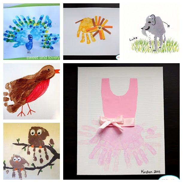 59 handprint art ideas for kids wonderful DIY 59 Wonderful Handprint Art Ideas For Kids