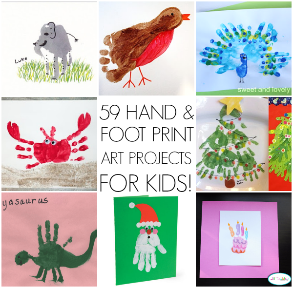 59 handprint art ideas for kids 59 Wonderful Handprint Art Ideas For Kids