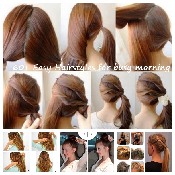 Christmas Hairstyles Easy.60 Simple Diy Hairstyles For Busy Mornings