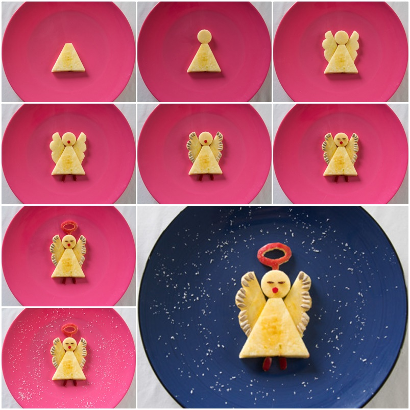 Apple Angels Recipe wonderful DIY Wonderful DIY Cute Christmas Apple Angel
