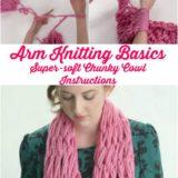 Wonderful DIY Easy Arm Knitting  for Beginners