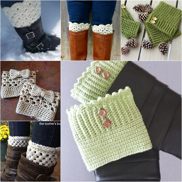 Boot Cuff free Pattern wonderful DIY 26 Wonderful Free Patterns for Crochet Boot Cuffs