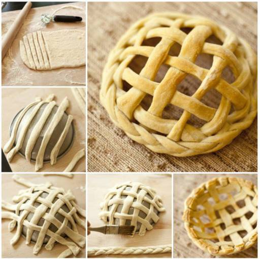 Wonderful DIY Braided Bread Basket
