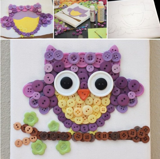Button-Owl art-wonderfuldiy1