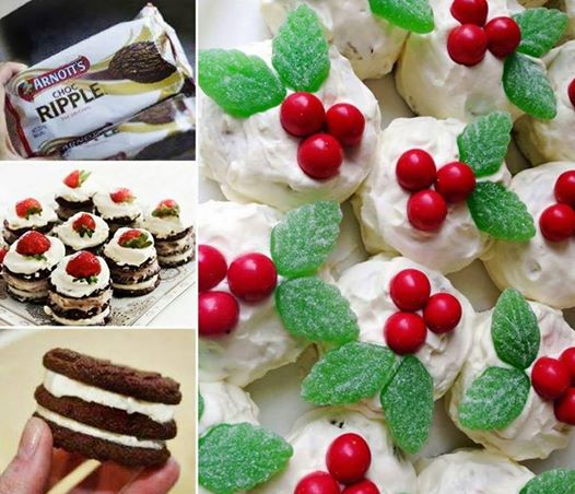 Chocolate Ripple Cakes wonderful DIY Wonderful DIY No Bake  Chocolate Ripple Cake