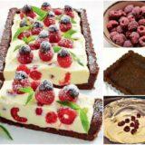 Wonderful DIY No Bake Chocolate Raspberry Cheesecake