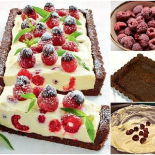 Wonderful DIY No Bake Chocolate Raspberry Cheesecake