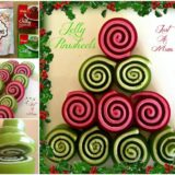 Wonderful DIY Christmas Jelly Pinwheels