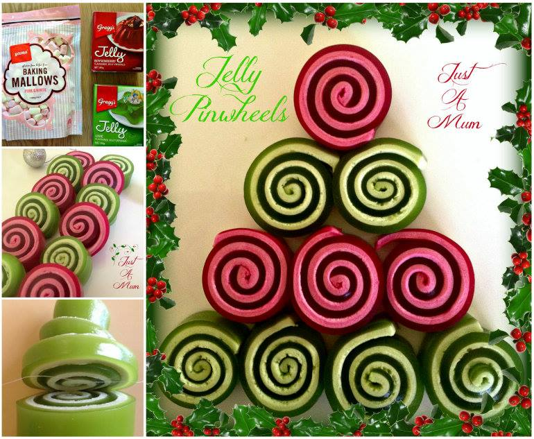 Christmas Jelly Pinwheels wonderful DIY Wonderful DIY Christmas Jelly Pinwheels