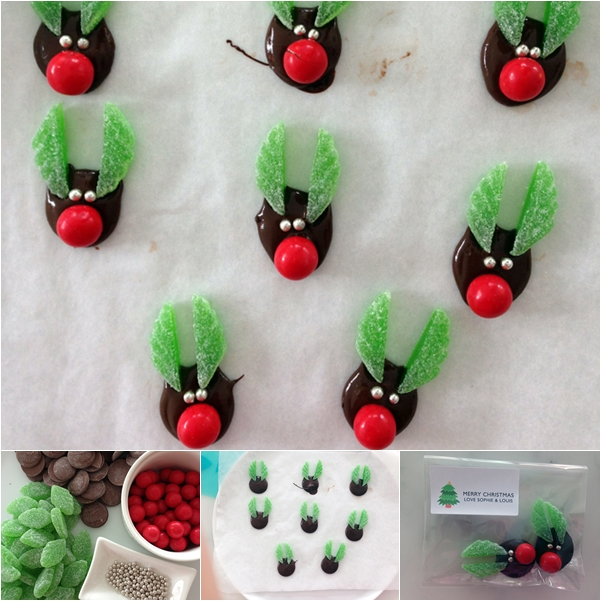 Wonderful Diy Christmas Chocolate Reindeer Treats