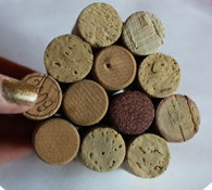 Christmas tree ornaments from Wine corks--wonderful DIY11