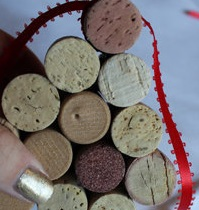 Christmas tree ornaments from Wine corks–wonderful DIY13