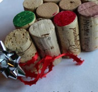Christmas tree ornaments from Wine corks--wonderful DIY17
