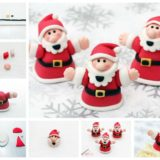 Wonderful DIY Cute Santa Cake Decoration