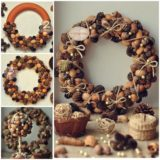 Wonderful DIY Natural Pine Cone Wreath