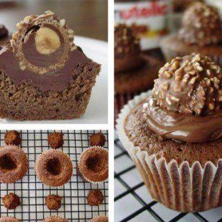 Wonderful DIY Ferrero Rocher Cupcake  Dessert