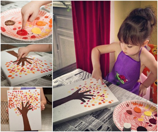 Fingerprint-Tree-Painting--wonderfuldiy