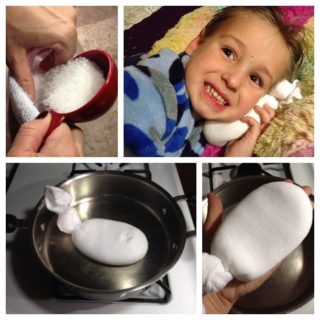 Wonderful DIY Magical Salt Sock for Ear Infection Relief