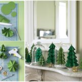 Wonderful DIY Modular Paper Christmas Tree