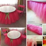 Wonderful DIY No Sew Beaded Tutu Bedskirt