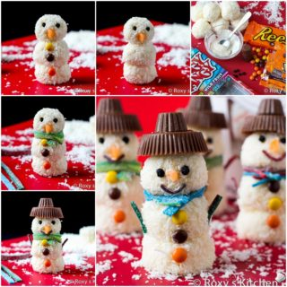 Wonderful DIY Homemade Raffaello Snowman