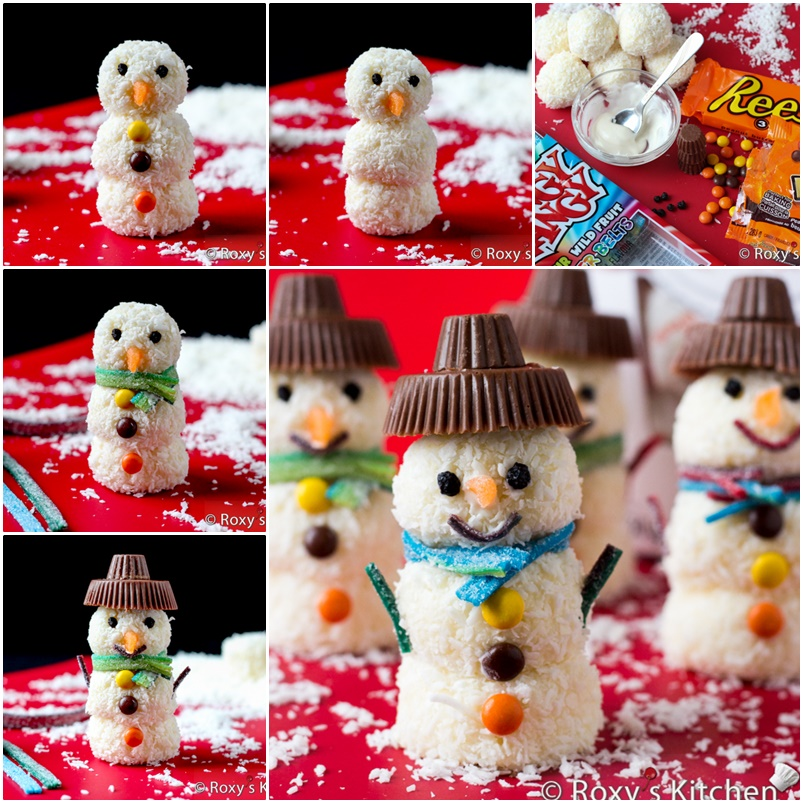 Raffaello-Snowmen- wonderful DIY