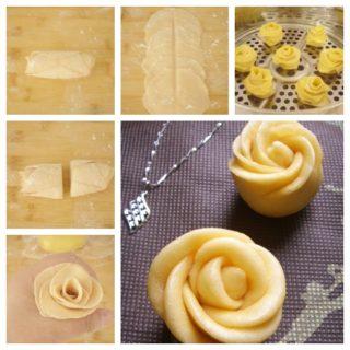 Wonderful DIY Yummy and Healthy Rose Flower Bread