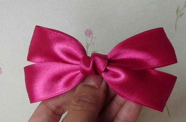 bow hairclip-wonderful DIY 10