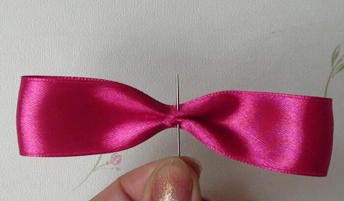 bow hairclip-wonderful DIY 2