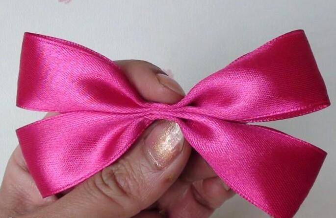 bow hairclip-wonderful DIY 3