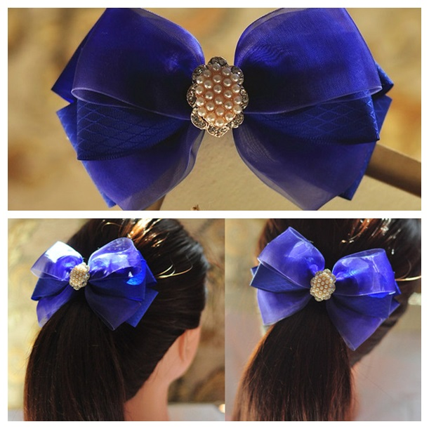 bow hairclip- wonderful DIY f2