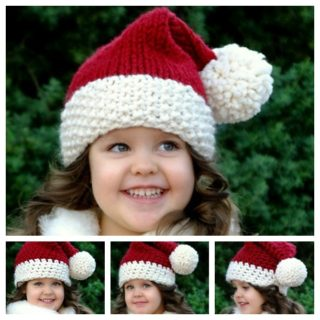 Wonderful DIY Crochet Classic Santa Hat with Free Pattern
