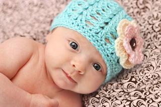 knitted crochet Beanie pattern 1.1